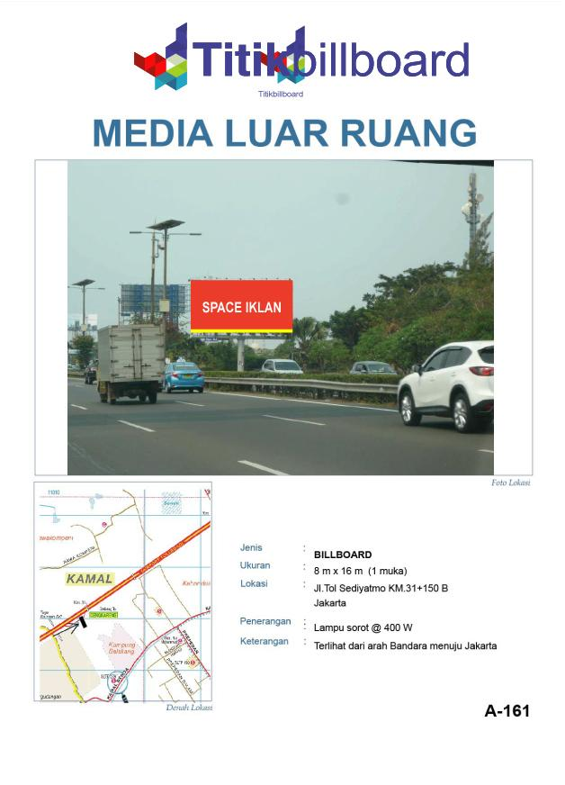 Lokasi Billboard Bandara Tol-Sedyatmo-KM.-31+150B