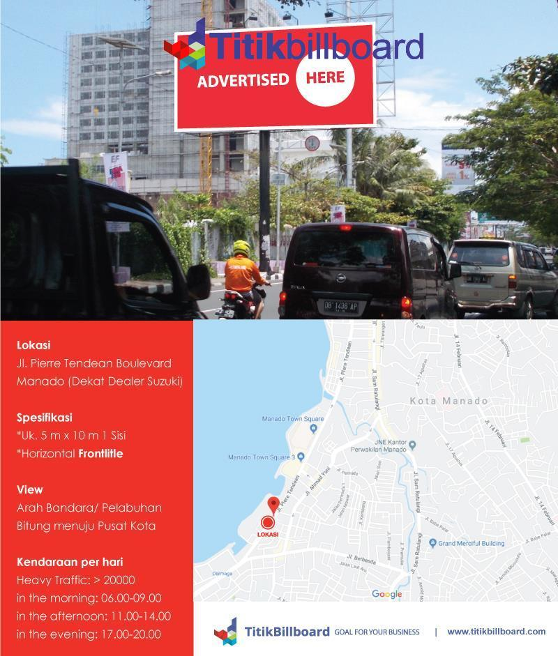 Billboard di Manado