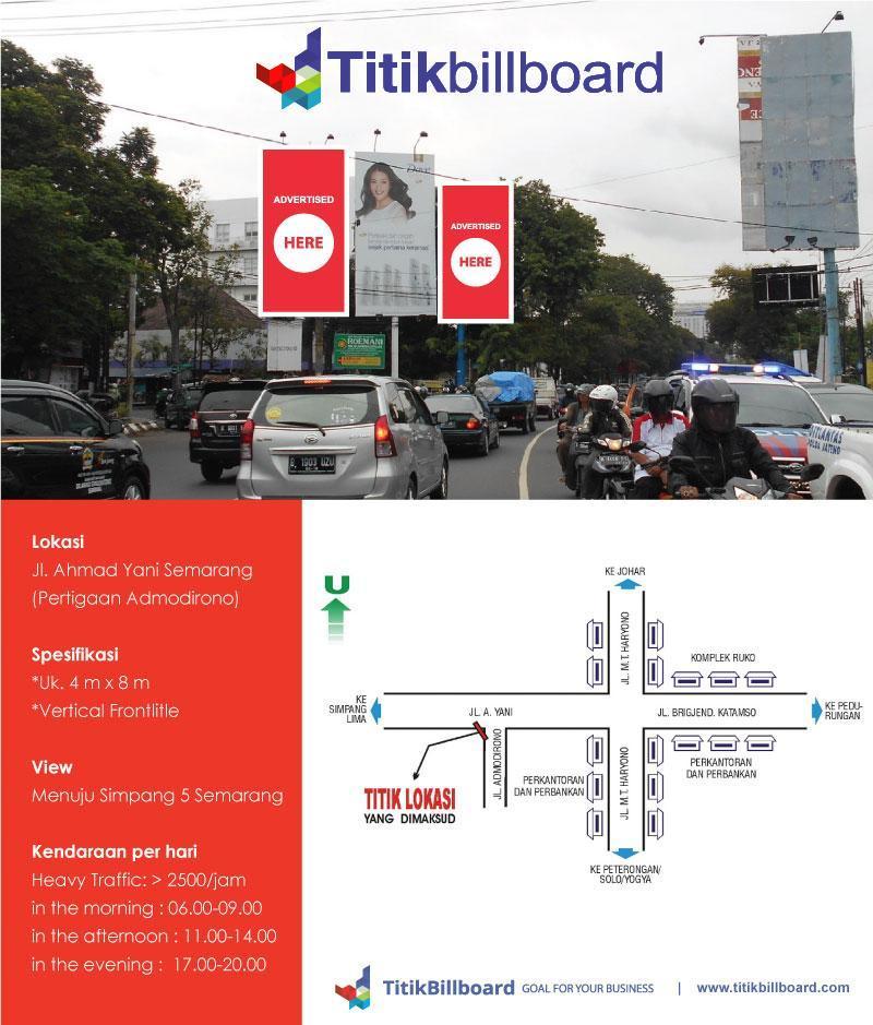 Billboard Semarang Jl. Ahmad Yani