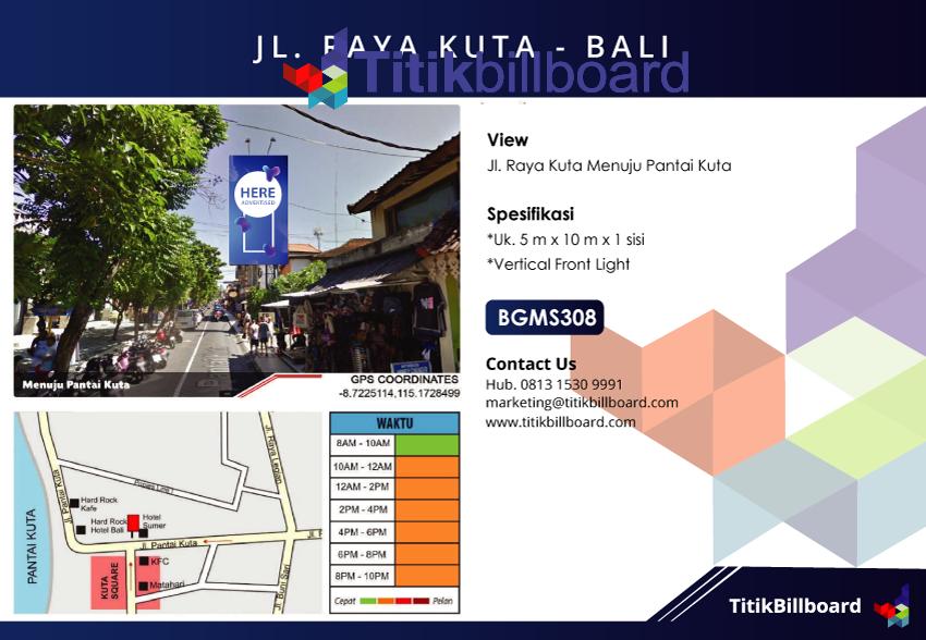 Sewa Billboard Kuta Bali