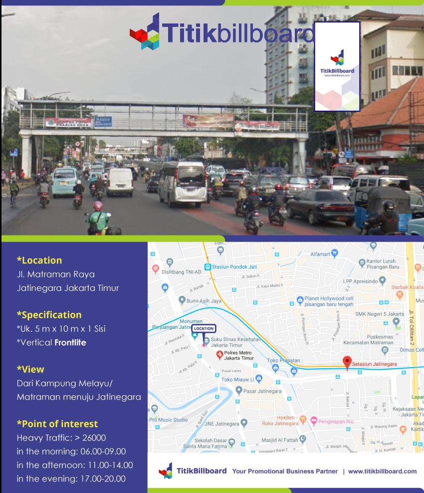 Billboard Di Jatinegara