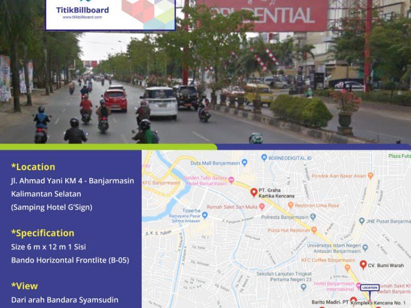 Sewa Lokasi Billboard Di Banjarmasin