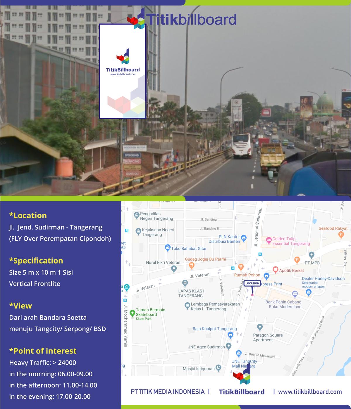 Sewa Billboard di Kota Tangerang.