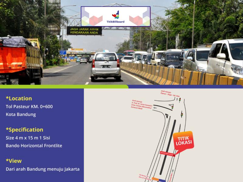 Sewa Lokasi Billboard Pasteur