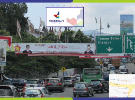 Sewa Billboard Bogor Exit Tol Gadog