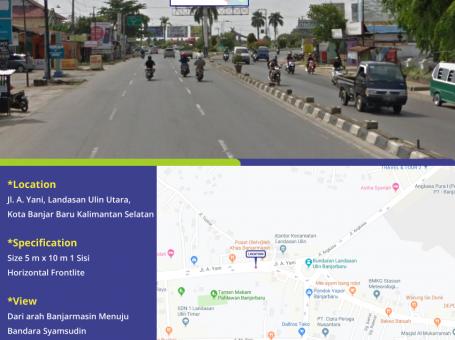 Sewa Billboard Di Banjarbaru
