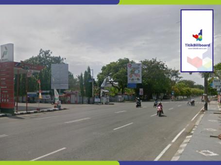 Sewa Billboard Di Cilacap Jl. Gatot Subroto Depan POM Bensin Damalang