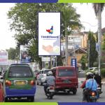 Lokasi Billboard Bandar Lampung Jl. Raden Intan - Depan Astoria Hotel