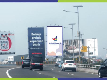 Lokasi Billboard Bandara Soekarno Hatta Jl. Tol Soedyatmo Km.16 +280