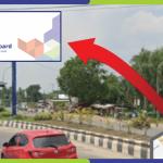 Lokasi Billboard Banjarmasin Jl. Ahmad Yani Km.20