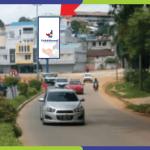 Lokasi Billboard Batam Jl. Teuku Umar - Sebrang Pizza Hut Baloi
