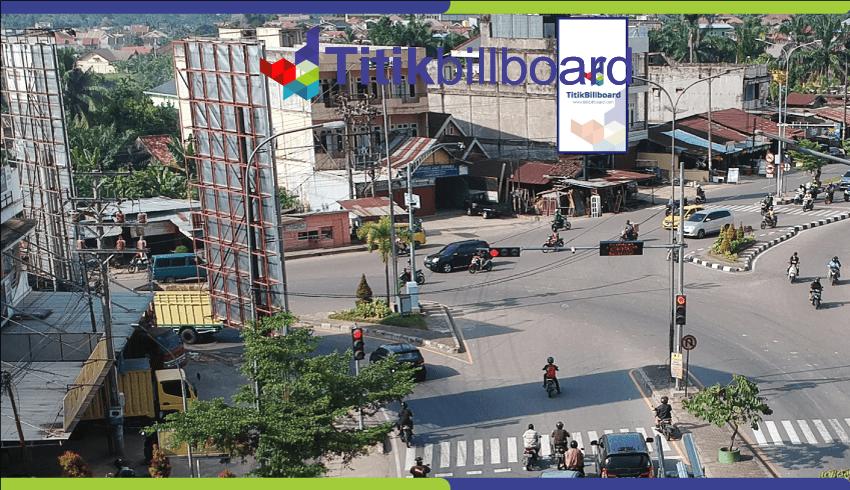 Lokasi Billboard Jambi Jl. Kapten Pattimura No. 45 - Depan SPBU Simpang Rimbo
