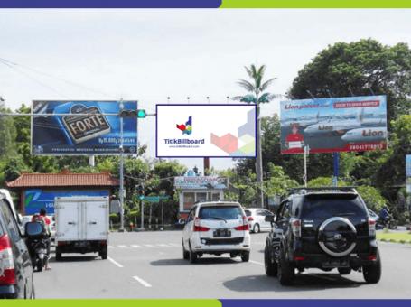 Lokasi Billboard Kuta Jl. Airport Ngurah Rai Tuban – (Pertigaan Patung Kuda)