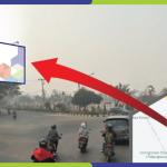 Lokasi Billboard Palangkaraya Jl. Diponegoro - Bundaran Kecil