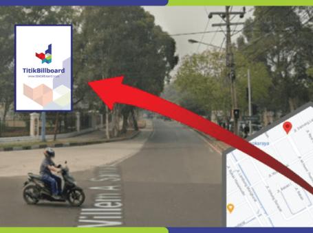 Lokasi Billboard Palangkaraya Jl. G. Obos