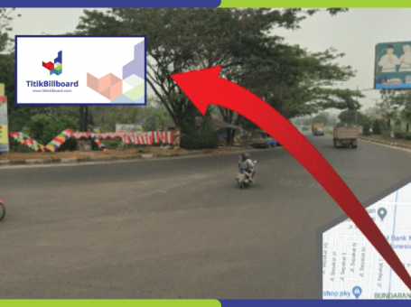 Lokasi Billboard Palangkaraya Jl. RTA Milono – Bundaran Burung