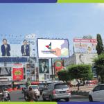 Penyedia Billboard Di Semarang Jl. Simpang Lima
