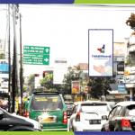 Sewa Billboard Bandung Perempatan Jl. Sunda