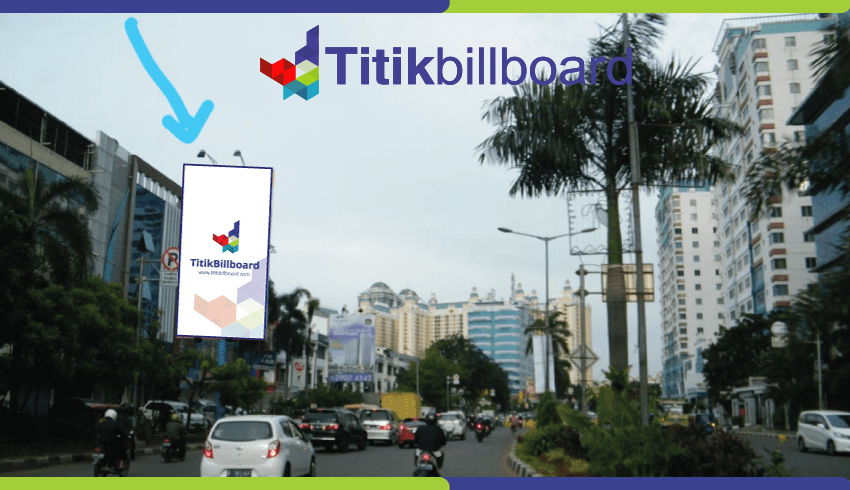 Sewa Billboard Jakarta Utara Jl. Mitra Sunter - Depan Astra Motor