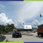 Sewa Billboard Lampung Selatan Lampu Merah Pintu Keluar Tol Kota Baru