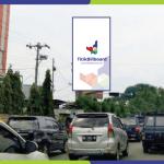 Sewa Billboard Medan Jl. Gatot Subroto - Simpang Jl. H. Adam Malik