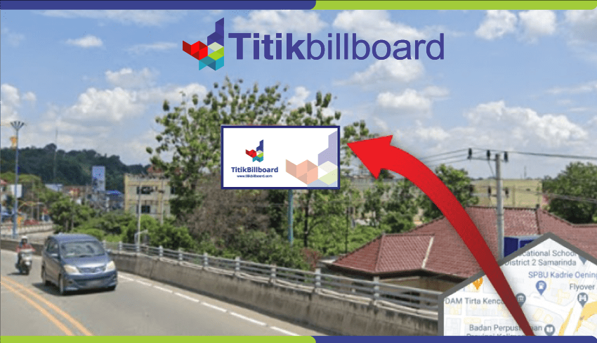 Sewa Billboard Samarinda Jl. Ir. H. Juanda