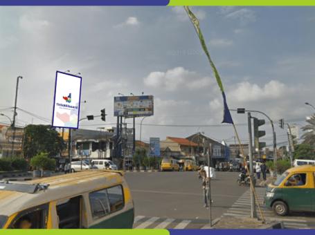 Lokasi Billboard Ciledug Jl. KH Hasyim Ashari – Perempatan Ciledug