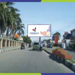 Lokasi Billboard Gorontalo Jl. Ahmad Yani - Depan Masjid Agung