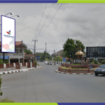 Lokasi Billboard Indramayu Jl. Jend Sudirman - Bundaran Adipura