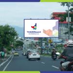 Lokasi Billboard Manado Jl. A. A Maramis - Perempatan Transmart