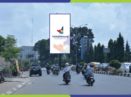 Lokasi Billboard Palembang Jl. Jend Sudirman – Depan Bank Indonesia
