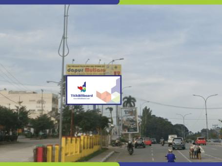 Lokasi Billboard Palembang Jl. Residen Abdul Rozak
