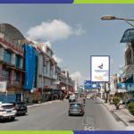 Lokasi Billboard Pematang Siantar Jl. Sutomo - Depan Pool Bus Paradep