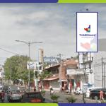 Lokasi Billboard Semarang Jl. MT Haryono - Depan Mall Java Semarang