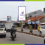 Lokasi Billboard Serang Jl. Fatah Hasan - Simpang Empat Dekat Kantor PKS
