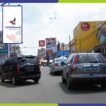 Lokasi Billboard Serang Jl. Juhdi - Pusat Pertokoan Cellular Royal