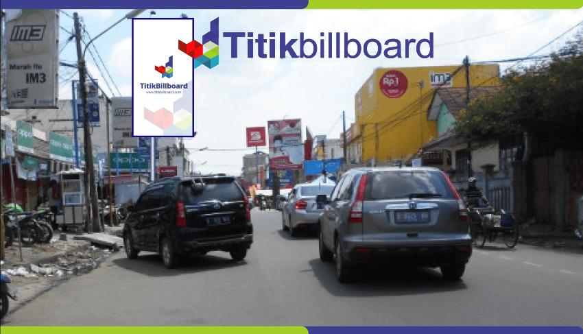 Lokasi Billboard Serang Jl. Juhdi – Pusat Pertokoan Cellular Royal