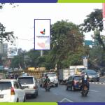 Lokasi Billboard Tangerang Jl. Jend Sudirman - Depan Mall Tangcity