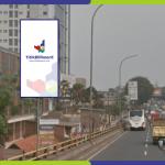 Lokasi Billboard Tangerang Jl. Jend Sudirman - Flyover Perempatan Cipondoh