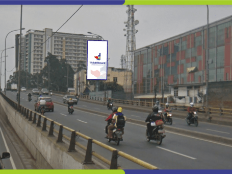Lokasi Billboard Tangerang Jl. Jend Sudirman – Flyover Perempatan Cipondoh