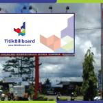 Lokasi Billboard Timika Jl. Yos Sudarso - Depan Bank Papua
