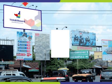 Lokasi Billboard Yogyakarta Jl. Ahmad Yani – Perempatan Ring Road Giwangan