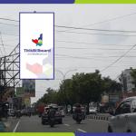 Lokasi Billboard Yogyakarta Jl. Laksda Adisucipto - Depan BCA Adisucipto
