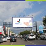 Sewa Billboard Makassar Jl. Boulevard Panakukang - Depan Bank CIMB Niaga