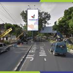 Sewa Billboard Malang Jl. Jaksa Agung Suprapto - Depan Polresta Malang
