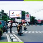 Sewa Billboard Padang Jl. Proklamasi - Depan Pos