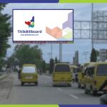 Sewa Billboard Sorong Jl. Basuki Rahmat - Depan Keuangan Negara