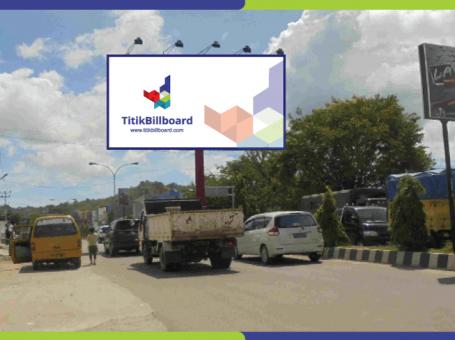Sewa Billboard Sorong Jl. Basuki Rahmat – Perempatan Depan Bank Mandiri